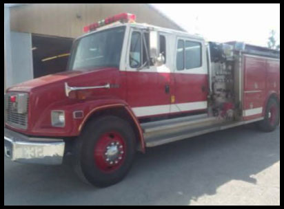 Surplus 1994 Freightliner FL80 Fire Engine