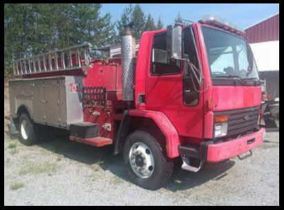 Surplus 1995 Ford Water Tender